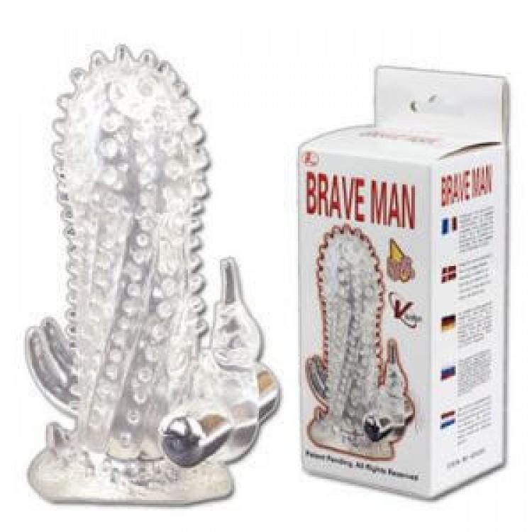 Насадка «Baile Brave Man Vibration» | Интернет-магазин bio-market.kz