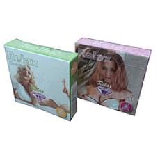 Презервативы Relax текстурированные (3 шт)  | Био Маркет