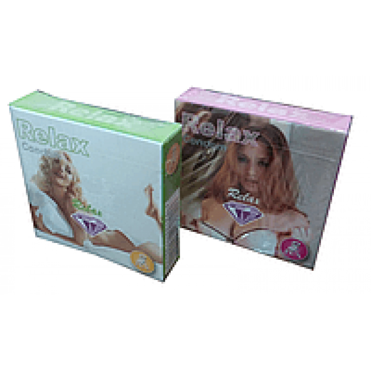 Презервативы Relax текстурированные (3 шт)   Интернет-магазин bio-market.kz