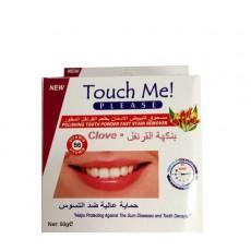 Зубной порошок для отбеливания зубов Touch Me Clove  | Био Маркет