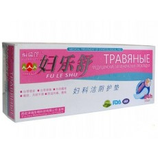 Лечебные травяные прокладки Fu Le Shu на 49 травах  | Био Маркет