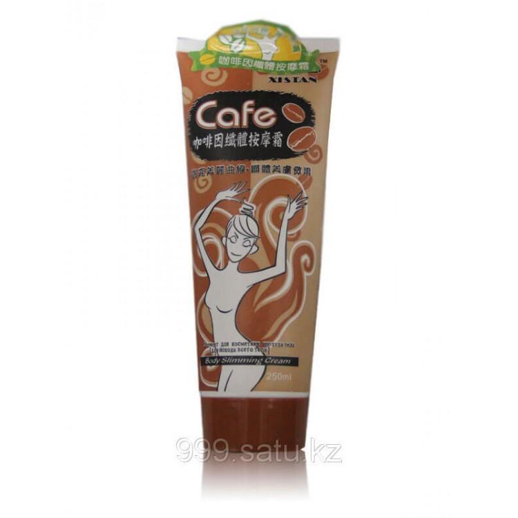 Крем для похудения с экстрактом кофе(антицеллюлитный)    Био Маркет