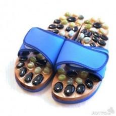 Массажные тапочки с натуральными камнями (нефрит, яшма)    Био Маркет
