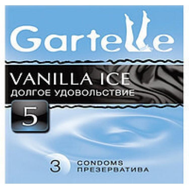 Презервативы Gartelle, vanilla ice долгое удовольствие (3 шт) | Интернет-магазин bio-market.kz
