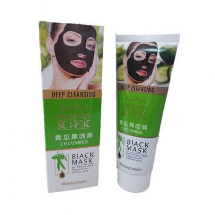 Черная маска Black Mask для лица с экстрактом огурца  | Био Маркет