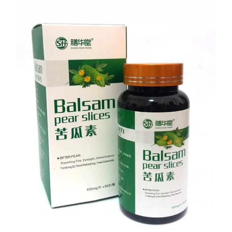 Balsam pear slices- препарат от сахарного диабета  | Био Маркет