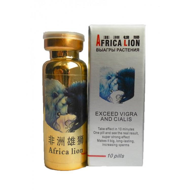 Africa lion- препарат для потенции африканский лев | Интернет-магазин bio-market.kz