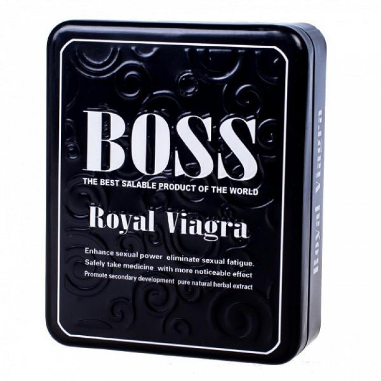 Boss Royal Viagra-Босс Роял Виагра (27 шт.)   Интернет-магазин bio-market.kz
