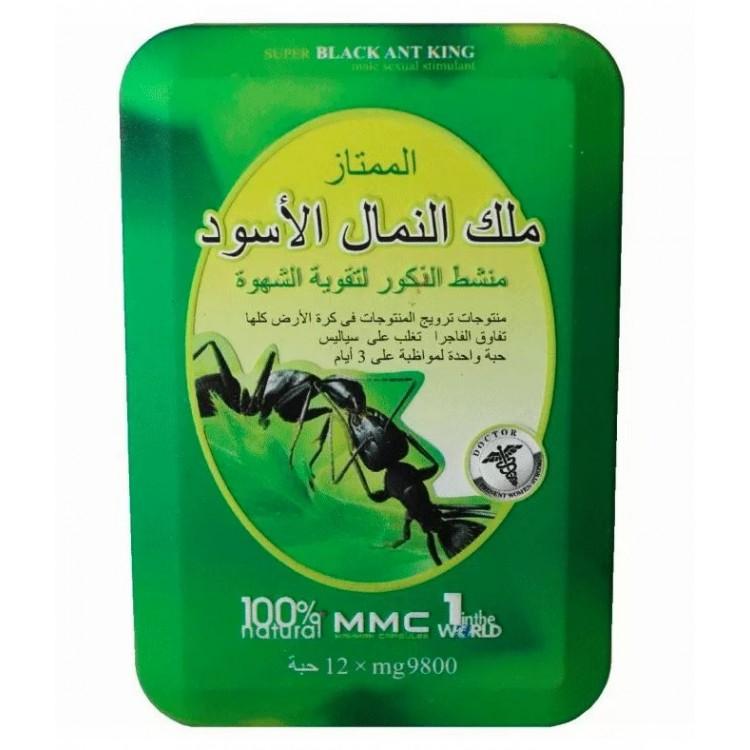 Препарат для потенции Черный муравей дозировка 9800 mg  | Био Маркет
