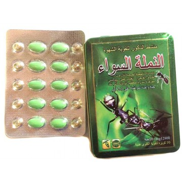 Черный муравей-препарат для потенции. Дозировка 12800 мг.