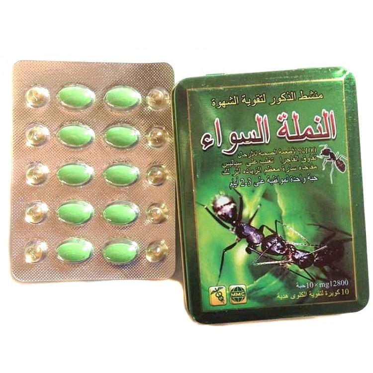 Черный муравей-препарат для потенции. Дозировка 12800 мг.  | Био Маркет