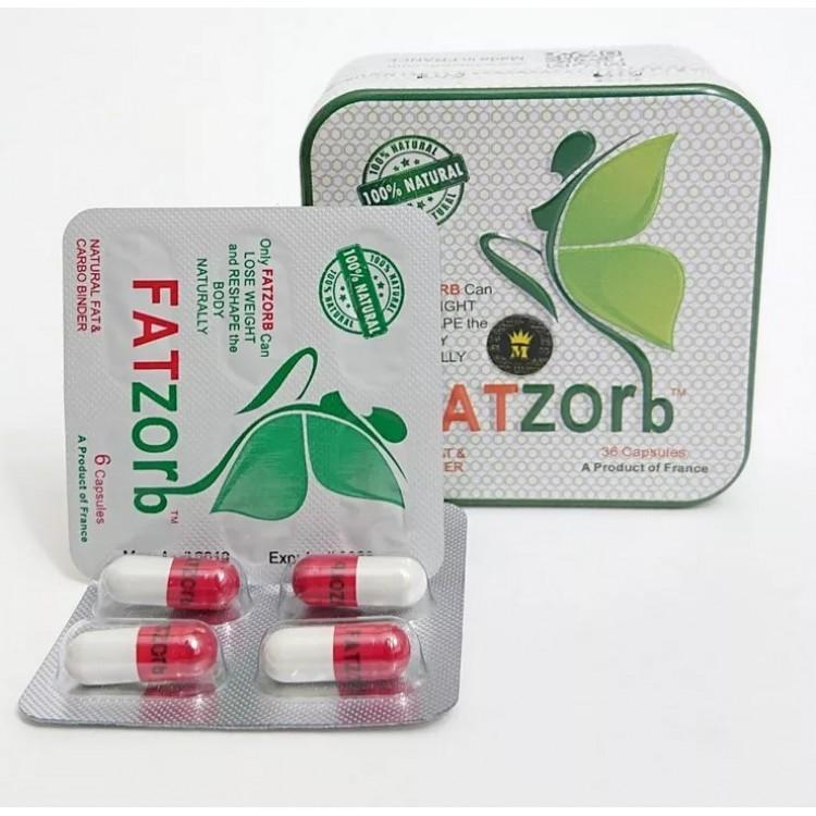 Fatzorb - средство для похудения ( 36 капсул) .  | Био Маркет