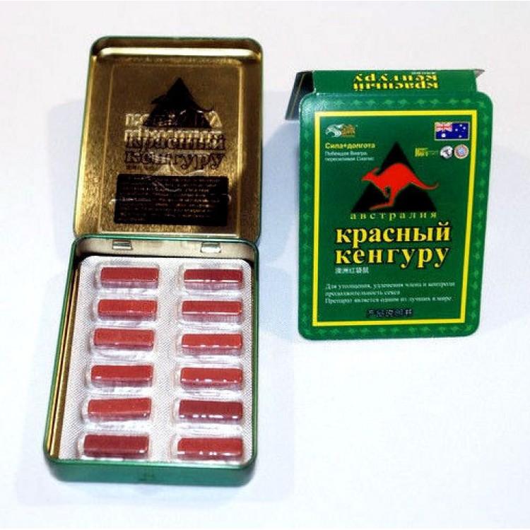 Красный кенгуру-средство для повышение потенции | Интернет-магазин bio-market.kz