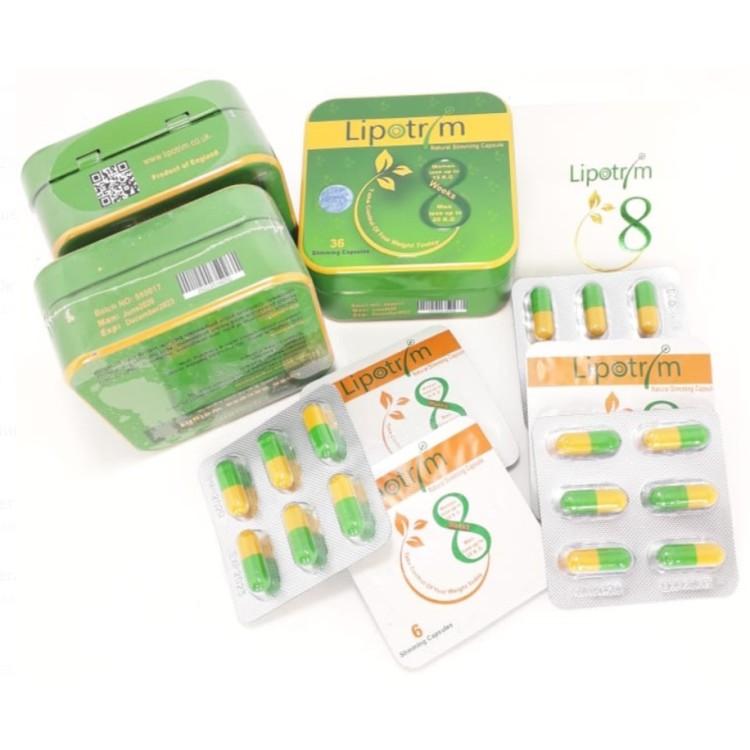 Липотрим (Lipotrim) - средство для похудения в блистерах 36 капсул | Интернет-магазин bio-market.kz