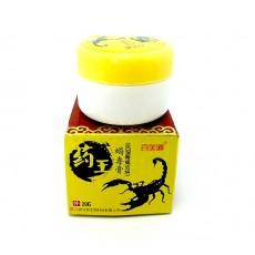 Китайский бальзам обезболивающий для суставов из яда скорпиона (20 г.)    Био Маркет