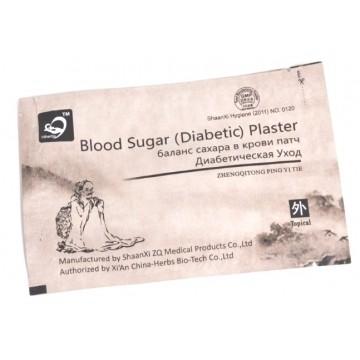 диабетический пластырь blood sugar (diabetic) plaster (zhengqitong ping tie)