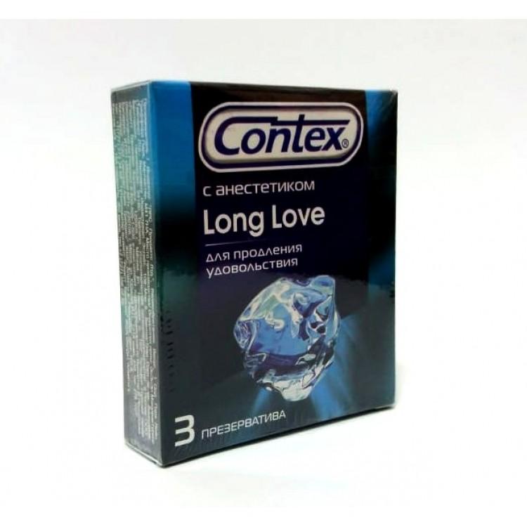 Презервативы Contex Long Love (3 шт) | Интернет-магазин bio-market.kz