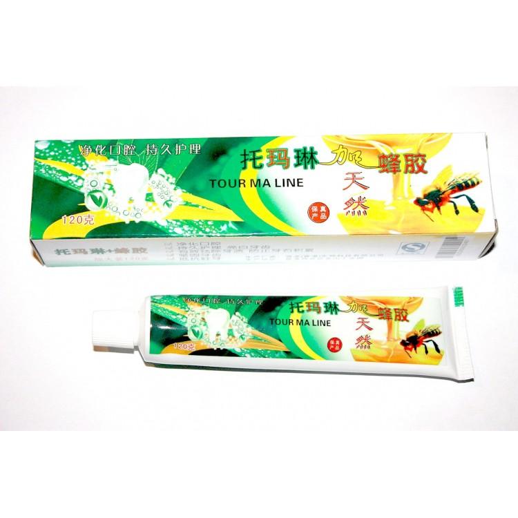 Зубная паста с содержанием турмалина, 120 г.  | Био Маркет