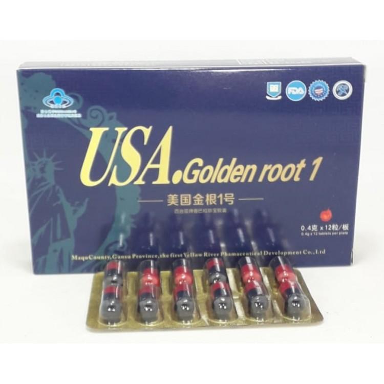 Препарат для повышения потенции USA golden root | Интернет-магазин bio-market.kz