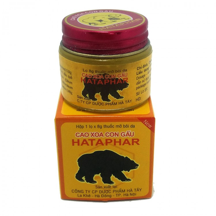 "Обезболивающий бальзам ""Hataphar"" Медвежья сила  | Био Маркет"