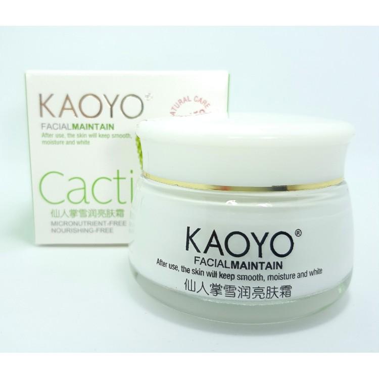 Крем для лица Кактус Kaoyo  | Био Маркет