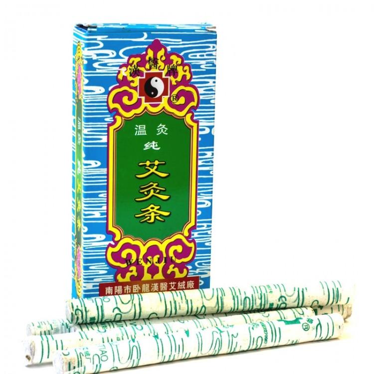 Полынные сигары WENJU (мокса) (упаковка 10 шт.) | Интернет-магазин bio-market.kz