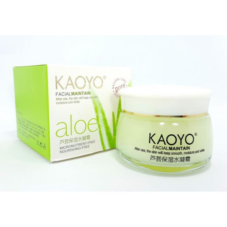 Увлажняющий крем Kaoyo с экстрактом алоэ   Интернет-магазин bio-market.kz