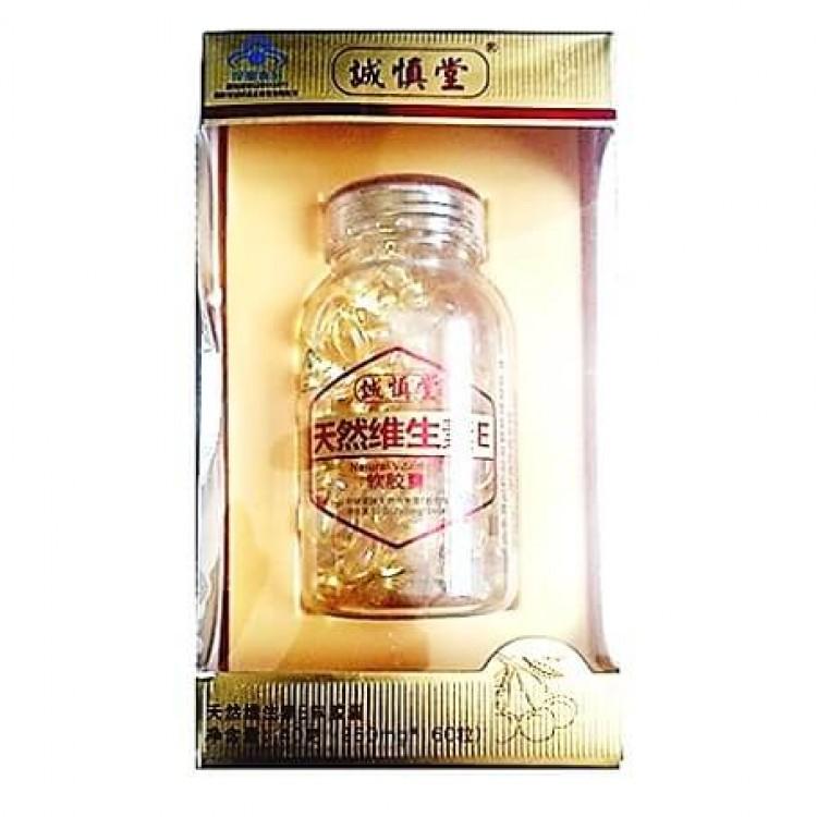Натуральный витамин E CHENG SHEN TANG (160 капс) | Интернет-магазин bio-market.kz