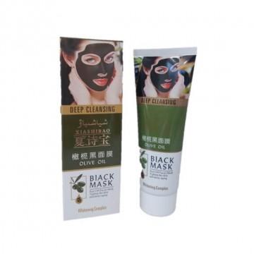 Черная маска Black Mask для лица c оливковым маслом