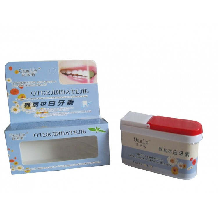 Отбеливатель для зубов с цветами хризантем    Био Маркет